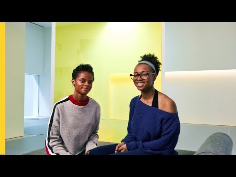 Letitia Wright Meets Shaniyaa | Shell Eco-marathon | #makethefuture