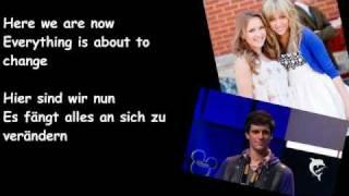 Hannah Montana Forever-Wherever I go (Lyrics+deutsche Übersetzung+Official Music Video)