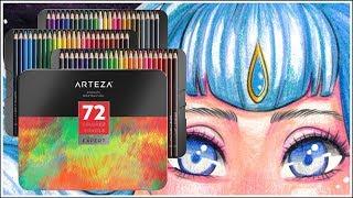 Arteza Colored Pencils - Colored Pencil Review