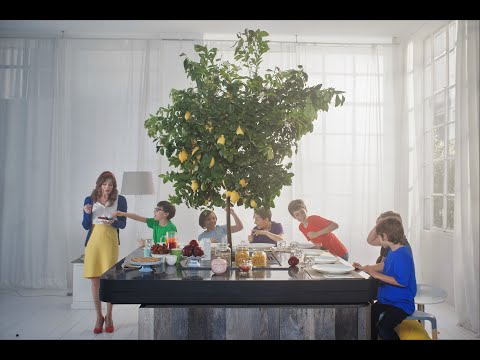 ARAN Cucine OASI - A kitchen under the branches by Stefano Boeri Architetti