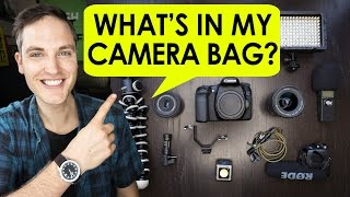 What's in My Camera Bag for #CES2017