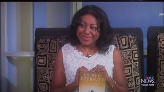 "Susan Harris on CTV - new book ""Touched By Eternity"""