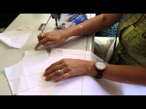 Preparacion de canesú (Camisa Hombre)