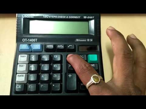 Orpat Calculator - Manufacturers & Suppliers in India