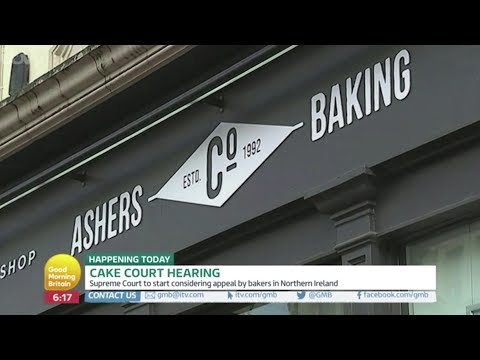 Good Morning Britain profiles 'gay cake' case