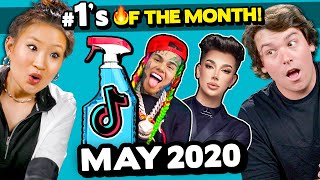 Adults React To #1 Viral Trends In May 2020 (TikTok Pee Your Pants, Wipe It Down, 6ix9ine - Gooba)