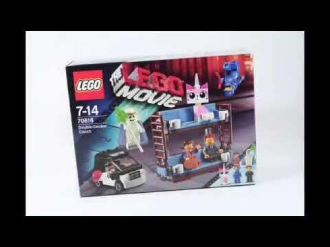 Vidéo LEGO The LEGO Movie 70818 : Le canapé à deux étages d'Emmet