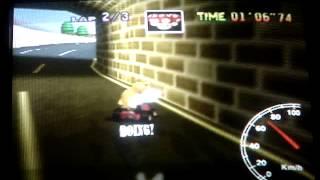 """Mario kart 64 - LR lap - 37"""" 65"""