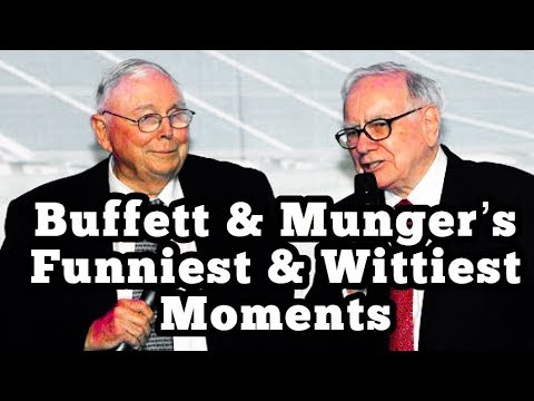 Warren Buffett & Charlie Munger's Funniest & Wittiest Moments