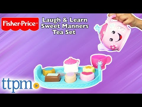 Laugh & Learn Sweet Manners Tea Set from Fisher-Price