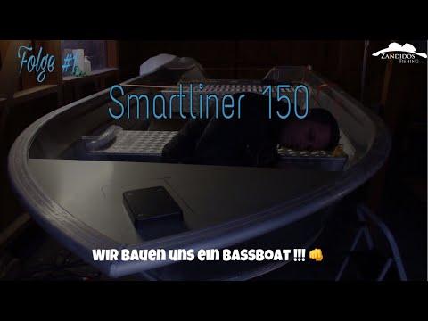Wir bauen uns ein Bassboat | Smartliner Boot Angelboot |  Folge 1