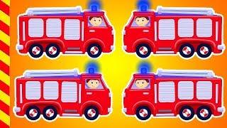 Мультики про Пожарные машинки 15 МИН. Пожарный автомобиль мчится на опасные задания