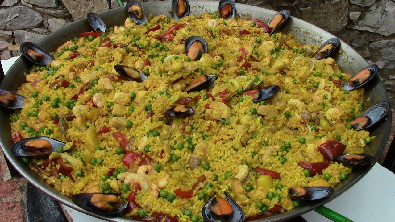 PAELLA | recetas de cocina faciles rapidas y economicas de hacer - comidas ricas