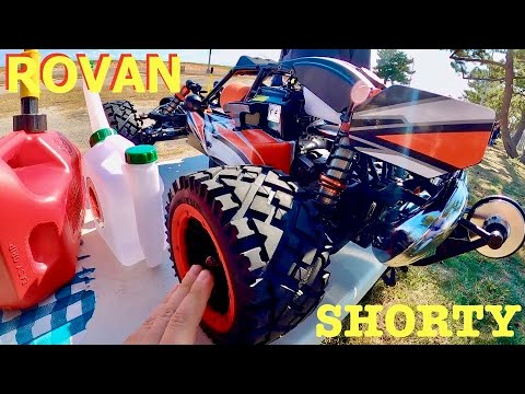Rovan Q-Baja 1/5 GAS RC - Break In and First Start Like a Professional