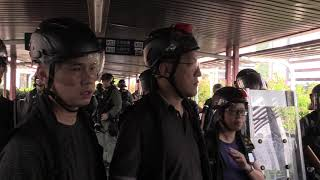 """Superintendent of NT South (Crime) Leung Kwok-wing Calling Protesters """"Cockroaches"""""""