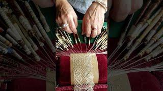Intricate Lace Making || ViralHog