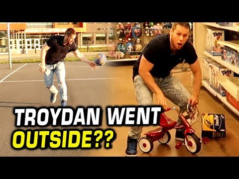 Troydan left the house! My First Vlog Ever!