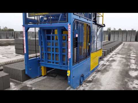 Fully Automatic Strapping and Stacking Machine