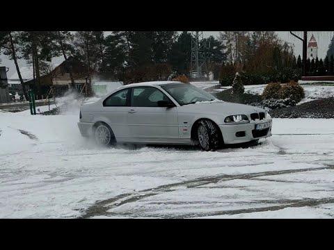 A little fun on the snow BMW E46 328Ci M52TUB28