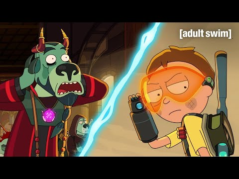 Morty Unleashes Terror   Rick and Morty   adult swim