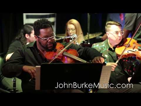 This is a mash-up of rehearsal footage where I played woodwinds for the album The Longest Night by John Burke.