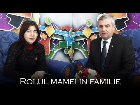 Rolul mamei in familie