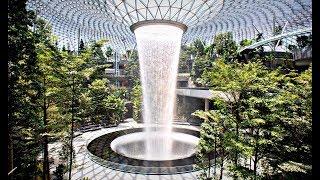 В Сингапуре построили аэропорт будущего - YouTube
