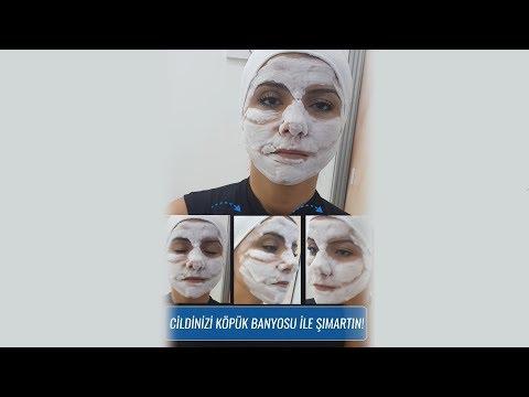 Türkiye'de ilk! Cildinizi Köpük Banyosu İle Şımartın - Köpüren Yüz Maskesi