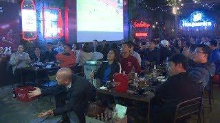 Không khí sau trận đấu giữa đội tuyển Việt Nam và Thái Lan