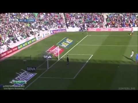 Cristiano Ronaldo AMAZING  Goal (Real Betis vs Real Madrid) 0-1 La Liga 18.01.2014