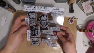 How To Make Halloween Cards Using Tim Holtz - Monstrous Stamps With Monica Taylor