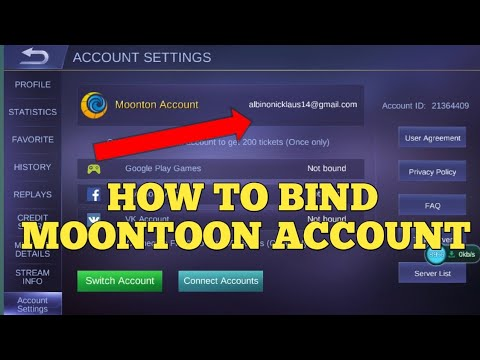 Bind Account Mobile Legend Android Ke Ios | STAMP TV