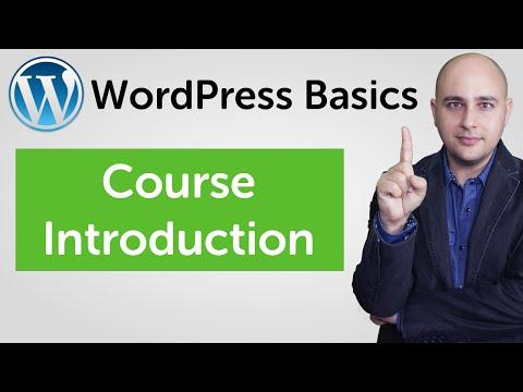 WordPress Basics Video Training Course - WordPress For ...