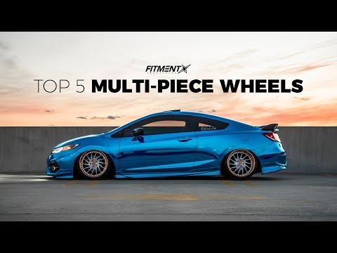 Top 5 Multi-Piece Wheels of 2018