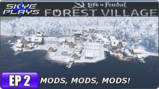MAJOR UPDATE   Life is Feudal  Forest Village S3 EP 27 - Most