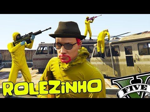 GTA V Online: ROLEZINHO Químicos do Breaking Bad
