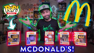 McDonalds 2020 Funko Pop Ad Icons Unboxing & Review!
