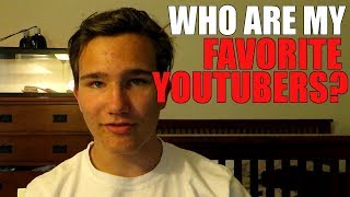 Who are my favorite youtubers? (TOP 5)