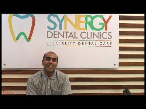 Patient Hamad Hilal Al Shukaili in Synergy Dental Clinics in Mumbai, India