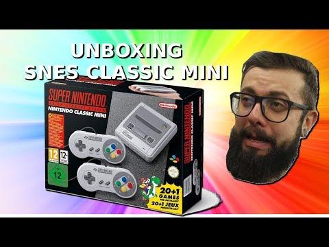 Unboxing Super Nintento SNES Classic Mini Amazon Prime
