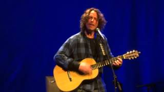 """Moonchild"" Chris Cornell@Strand Theatre York, PA 10/24/15 Higher Truth Tour"
