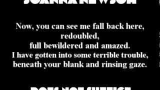 Joanna Newsom - Does Not Suffice (with lyrics)