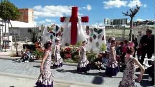 Actuación del Grupo del Colegio Veracruz (Eva Arias) en nuestra Cruz de Mayo