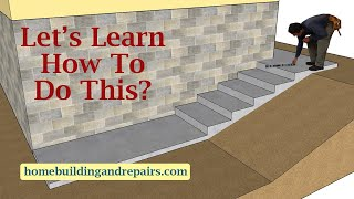 Learn How To Design Stairway On Sloping Hillside Next To Your Home - Landscape Architecture Tips