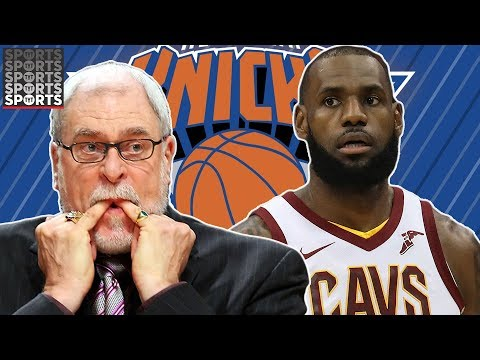 Lebron James vs Knicks, Phil Jackson