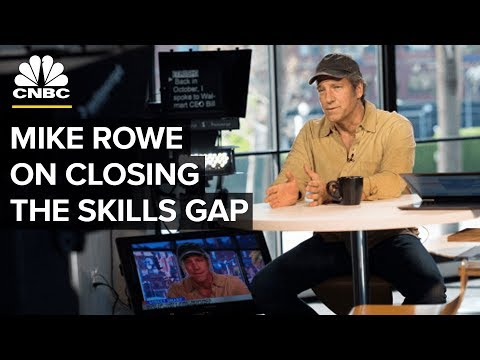 Mike Rowe: Why The Skills Gap And Job Shortage Persists