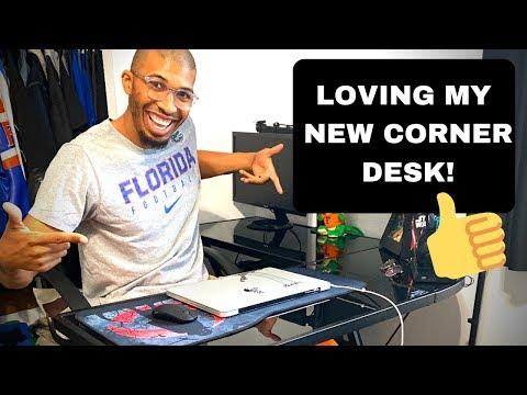 Best Computer Desk from Amazon! (SHW L-Shaped Home Office Corner Desk)