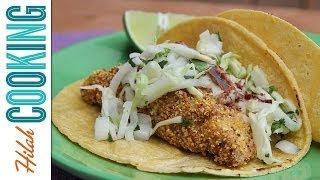 How to Make Fish Tacos | Tacos De Pescado