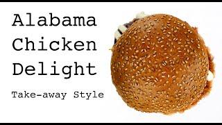 Chicken Crunchy Kip Hamburger (Halal)