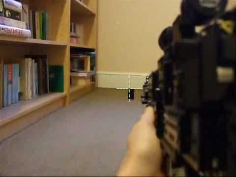 LEGO Sniper Rifle, It Works!